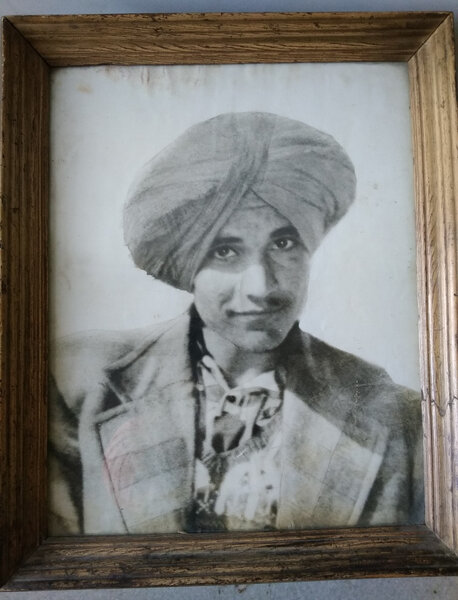 Photo of Harbans Singh, victim of extrajudicial execution on April 21, 1984Border Security Force