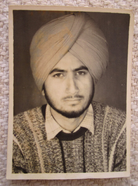 Photo of Jagdeep Singh Dass, victim of extrajudicial execution on March 13, 1993, in Mehna, by Punjab Police