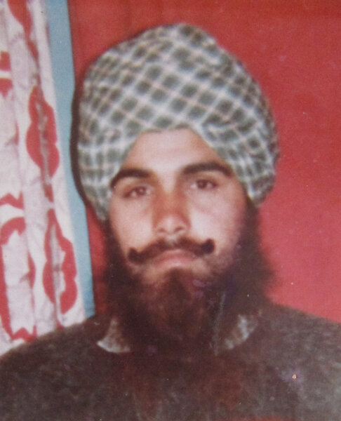 Photo of Jaswant Singh, victim of extrajudicial execution between April 14, 1993 and April 30,  1993, in Bhagha Purana, by Punjab Police