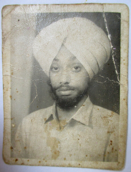 Photo of Karnail Singh, victim of extrajudicial execution between June 19, 1989 and June 31,  1989, in Moga, Moga CIA Staff,  by Punjab Police; Criminal Investigation Agency, in Moga, Faridkot, by Punjab Police