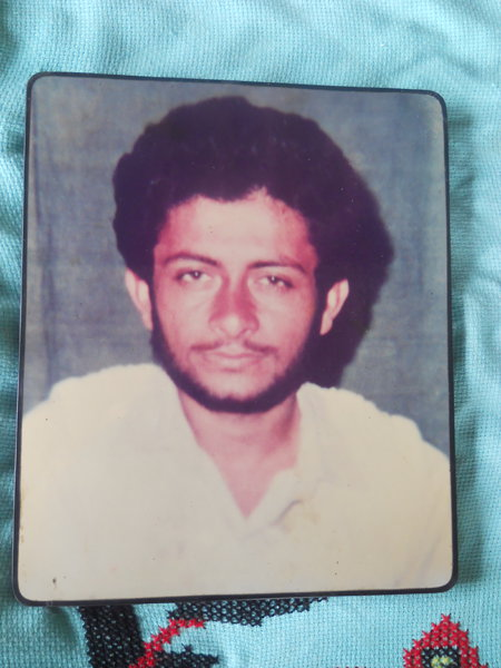 Photo of Rajeshinder Singh, victim of extrajudicial execution on June 13, 1990, in Muktsar, by Black cat
