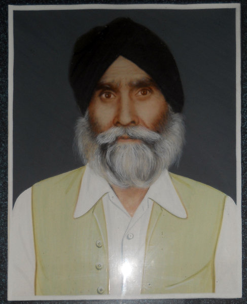 Photo of Gullu Singh, victim of extrajudicial execution on June 6, 1984, in Assam, by Army