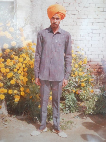 Photo of Jagsir Singh, victim of extrajudicial execution on March 10, 1993, in Abohar, by Punjab Police
