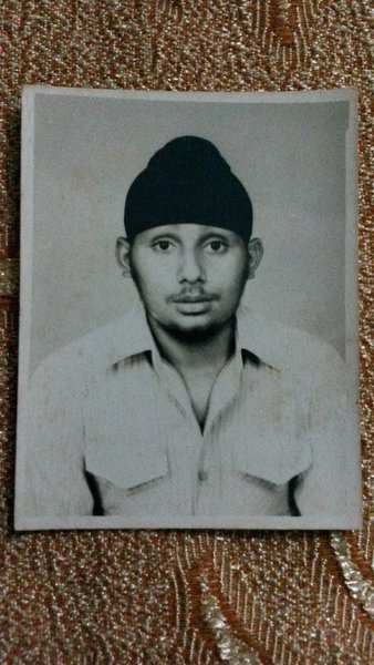Photo of Manjinder Pal Singh, victim of extrajudicial execution between September 20, 1988 and October 5,  1988, in Chandigarh