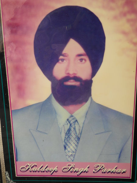 Photo of Kuldeep Singh,  disappeared between January 1, 1993 and December 12,  1993 by Punjab Police