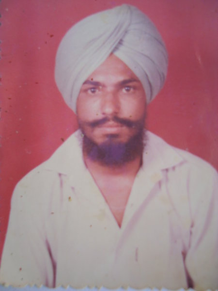 Photo of Ranjeet Singh,  disappeared between May 1, 1988 and July 31,  1989 by Punjab Police; Central Reserve Police Force