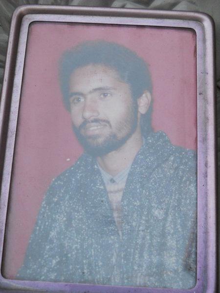 Photo of Baldev Raj, victim of extrajudicial execution on July 29, 1992 by Punjab Police; Central Reserve Police ForcePunjab Police