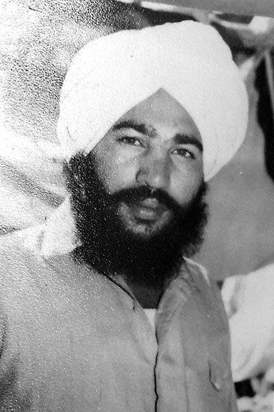 Photo of Surjit Singh, victim of extrajudicial execution between June 1, 1993 and June 30,  1993, in Shambhoo Kalan, by Punjab Police