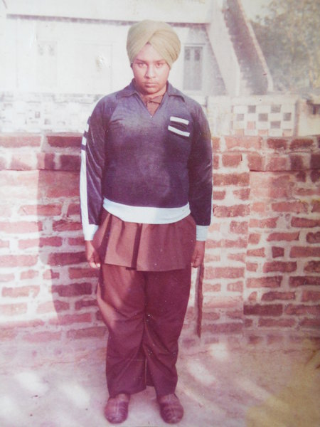 Photo of Jhujar Singh, victim of extrajudicial execution on June 22, 1991, in Banur,  by Punjab Police; Central Reserve Police Force, in Banur, by Punjab Police