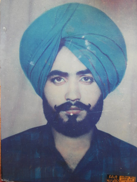 Photo of Surjit Singh, victim of extrajudicial execution between January 5, 1990 and January 6,  1990, in Morinda, by Punjab Police