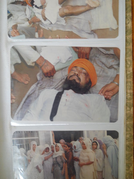 Photo of Gurcharan Singh, victim of extrajudicial execution on July 31, 1988, in Patiala CIA Staff, by Punjab Police