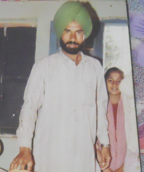 Photo of Dalip Singh, victim of extrajudicial execution on June 22, 1991Punjab Police