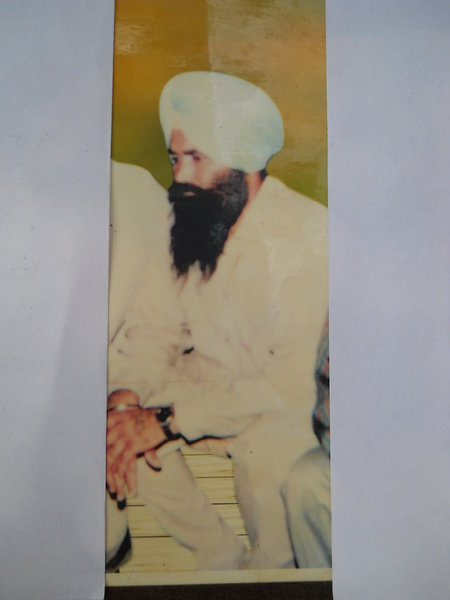 Photo of Maggar Singh, victim of extrajudicial execution between January 4, 1992 and January 10,  1992, in Samana CIA Staff,  by Criminal Investigation Agency, in Samana CIA Staff, by Criminal Investigation Agency