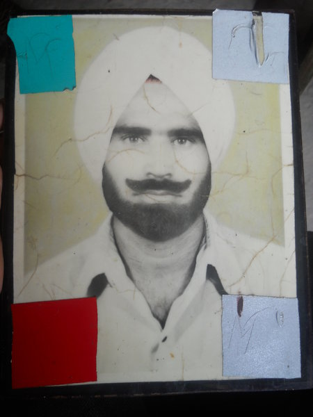 Photo of Sukhwinder Singh,  disappeared on October 14, 1990, in Samana CIA Staff,  by Criminal Investigation Agency