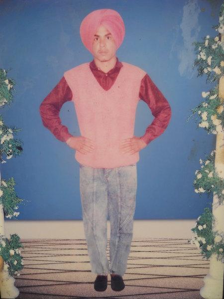 Photo of Kanta Singh, victim of extrajudicial execution between June 28, 1992 and June 30,  1992, in Ladda Kothi CIA Staff, by Criminal Investigation Agency