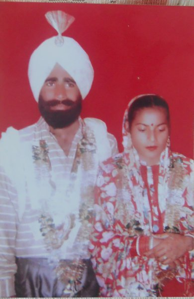 Photo of Gurcharan Singh, victim of extrajudicial execution between June 5, 1992 and June 30,  1995, in Amloh, Sirhind Fatehgarh Sahib, by Punjab Police