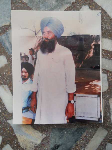 Photo of Karam Singh, victim of extrajudicial execution on September 15, 1987Central Reserve Police Force