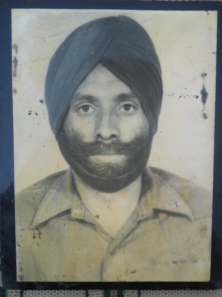 Photo of Shivram Singh, victim of extrajudicial execution between November 1, 1988 and December 31,  1988Punjab Police