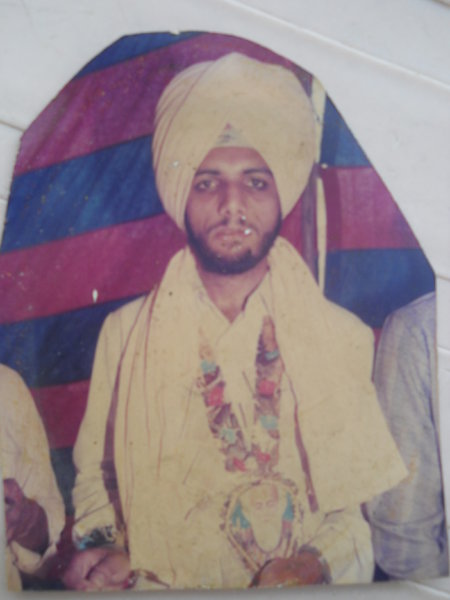 Photo of Balwinder Singh,  disappeared on March 26, 1993, in Patiala,  by Punjab Police