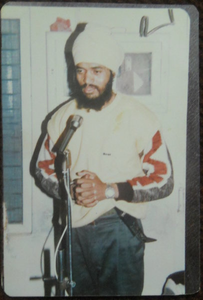 Photo of Gurdev Singh, victim of extrajudicial execution between October 27, 1991 and November 28,  1991, in Patiala, by Punjab Police