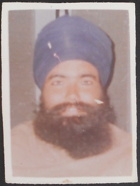 Photo of Harcharan Singh, victim of extrajudicial execution on June 05, 1990, in Patiala, by Punjab Police
