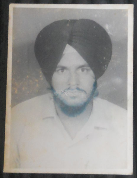 Photo of Acchar Singh,  disappeared on October 22, 1991, in Patiala CIA Staff,  by Criminal Investigation Agency