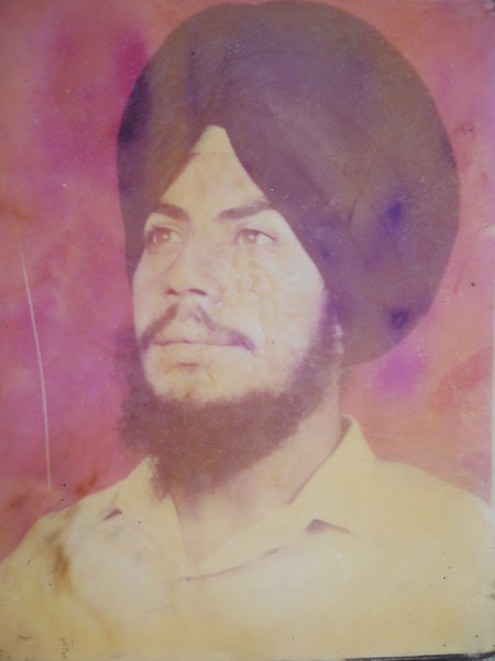 Photo of Avtar Singh,  disappeared on February 13, 1993, in Banur,  by Punjab Police