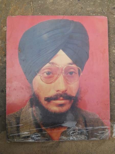 Photo of Nirmal Singh, victim of extrajudicial execution on March 28, 1991 by Punjab Police; Central Reserve Police ForceUnknown type of security forces
