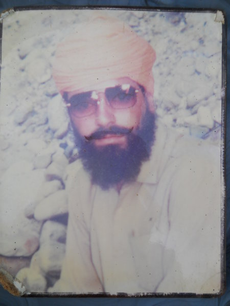 Photo of Kultar Singh, victim of extrajudicial execution between July 1, 1991 and July 7,  1991Punjab Police