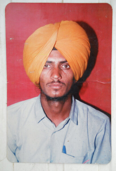Photo of Atamparkash Singh,  disappeared on March 09, 1991, in Chamkaur Sahib,  by Punjab Police
