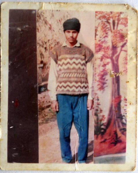 Photo of Palwinder Singh, victim of extrajudicial execution on November 29, 1992, in Rupnagar, Morinda, Chamkaur Sahib,  by Punjab Police; Criminal Investigation Agency, in Rupnagar CIA Staff, by Punjab Police; Criminal Investigation Agency