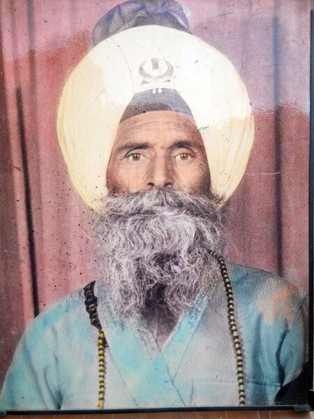 Photo of Jeet Singh, victim of extrajudicial execution between February 15, 1989 and March 15,  1989, in Kharar, by Punjab Police