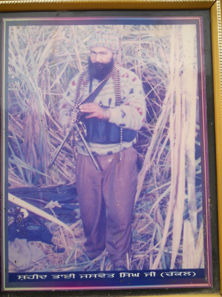 Photo of Jaswant Singh, victim of extrajudicial execution on November 05, 1992, in Rupnagar, by Punjab Police