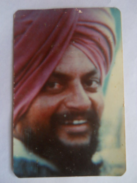 Photo of Krishan Singh, victim of extrajudicial execution on January 01, 1993, in Rupnagar, by Punjab Police; Central Reserve Police Force