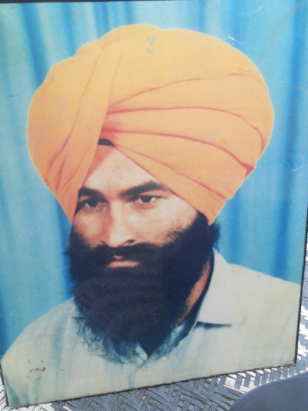 Photo of Major Singh, victim of extrajudicial execution on February 14, 1992Punjab Police; Central Reserve Police Force