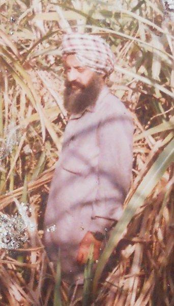 Photo of Naseeb Singh, victim of extrajudicial execution on December 20, 1992, in Chamkaur Sahib, Rupnagar, Kharar, Morinda, by Punjab Police