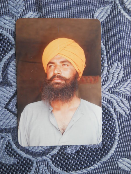 Photo of Harbhajan Singh, victim of extrajudicial execution on October 09, 1990, in Kharar, by Punjab Police