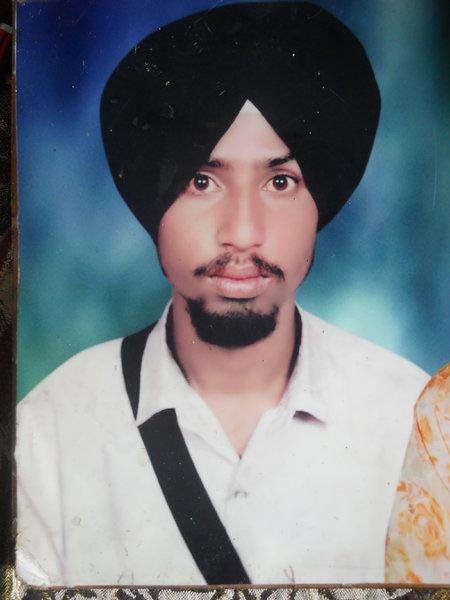 Photo of Guljar Singh, victim of extrajudicial execution on November 05, 1992, in Lutheri, Morinda, Rupnagar, by Punjab Police