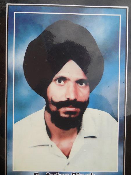 Photo of Avtar Singh, victim of extrajudicial execution between November 1, 1993 and December 31,  1993, in Morinda,  by Punjab Police; Criminal Investigation Agency, in Morinda, by Punjab Police