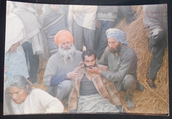 Photo of Prithi Singh, victim of extrajudicial execution on February 24, 1992, in Rupnagar, Chamkaur Sahib, Bela, by Punjab Police; Border Security Force; Central Reserve Police Force