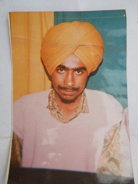 Photo of Major Singh, victim of extrajudicial execution between May 1, 1993 and May 31,  1993Punjab Police