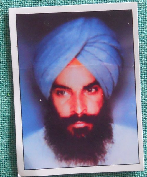 Photo of Kulwant Singh, victim of extrajudicial execution on July 22, 1991, in Sunam,  by Punjab Police; Central Reserve Police Force, in Sunam, by Punjab Police; Central Reserve Police Force