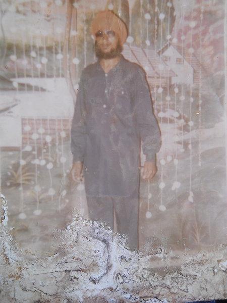 Photo of Balbir Singh, victim of extrajudicial execution on May 05, 1991, in Lehragaga, by Punjab Police