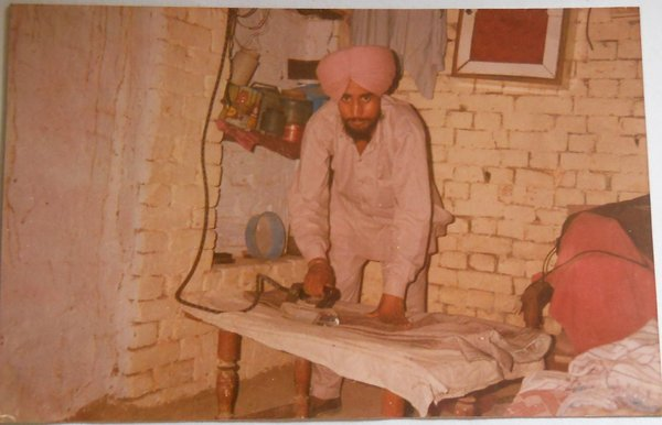 Photo of Sukhwinder Singh, victim of extrajudicial execution between February 1, 1993 and February 10,  1993Punjab Police