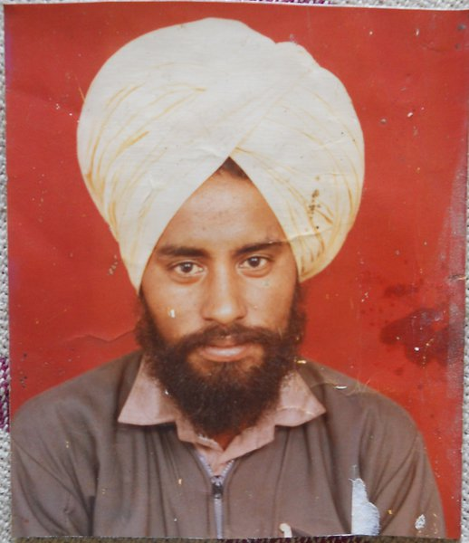 Photo of Hardev Singh,  disappeared between April 13, 1992 and April 14,  1992 by Punjab Police; Central Reserve Police Force