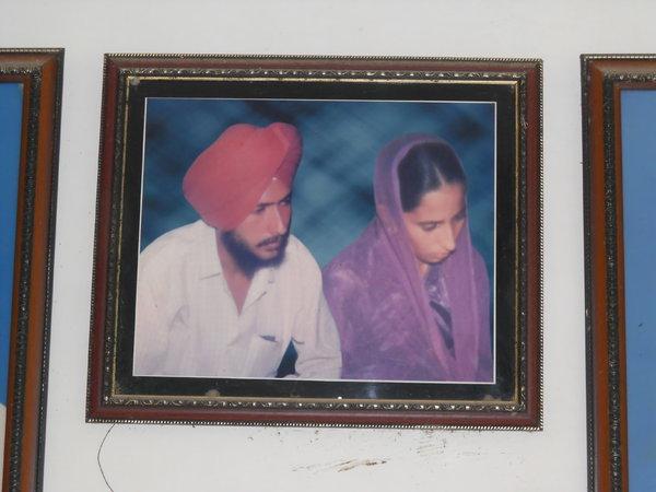 Photo of Pyara Singh, victim of extrajudicial execution on August 29, 1991, in Bathinda, by Punjab Police