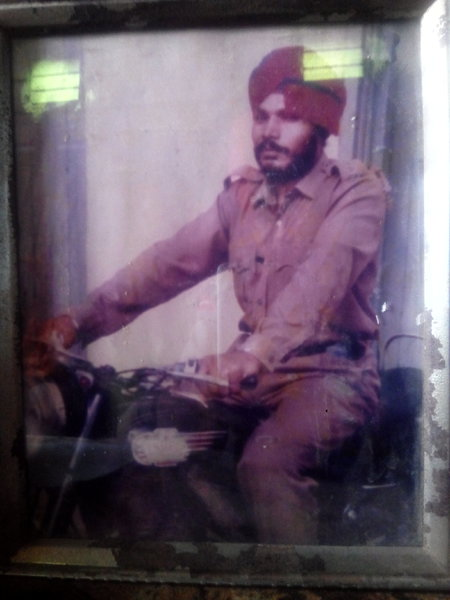 Photo of Basant Singh, victim of extrajudicial execution on June 01, 1993, in Dehlon, by Punjab Police