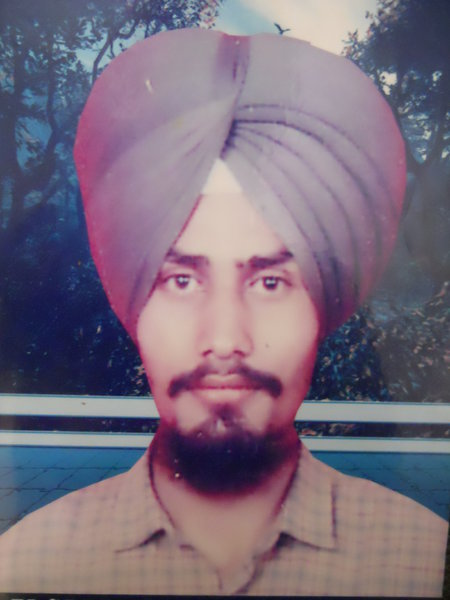 Photo of Jaspal Singh, victim of extrajudicial execution on December 30, 1992, in Bathinda CIA Staff,  by Criminal Investigation Agency, in Bathinda, by Punjab Police