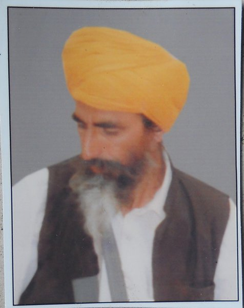 Photo of Maghar Singh, victim of extrajudicial execution between October 15, 1992 and October 20,  1992, in Handiaya CIA Staff,  by Criminal Investigation Agency, in Handiaya CIA Staff, by Criminal Investigation Agency