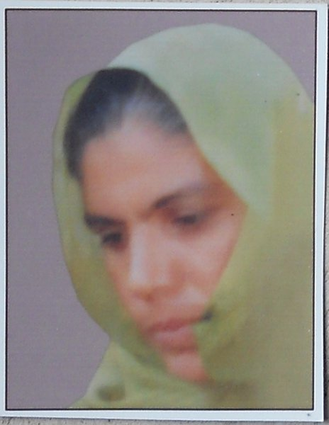 Photo of Naseeb Kaur, victim of extrajudicial execution between October 15, 1992 and October 20,  1992, in Handiaya CIA Staff,  by Criminal Investigation Agency, in Handiaya CIA Staff, by Criminal Investigation Agency